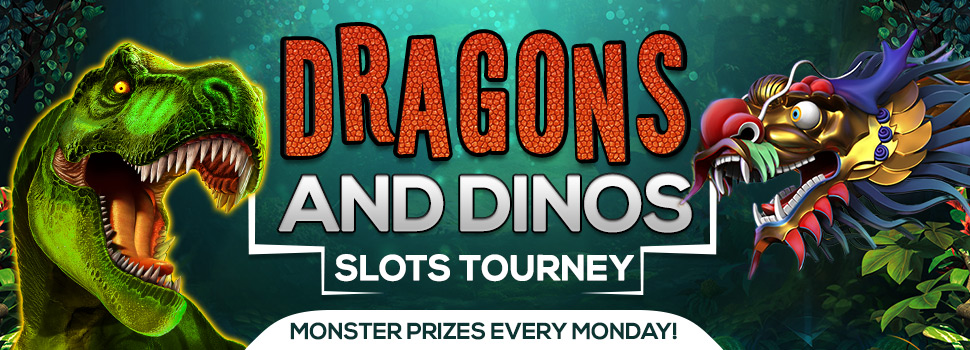 Dragons and Dinos Slots Tourney