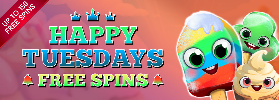 Happy Tuesdays - Free Spins