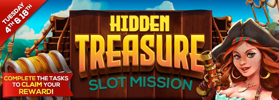 Start your adventure and seek out the hidden treasure