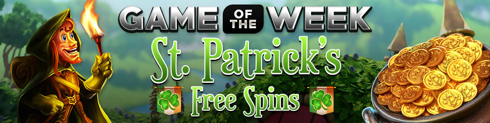 Game of the Week - St Patrick's Free Spins