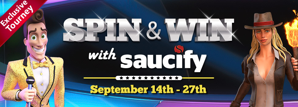 Spin & Win with Saucify!