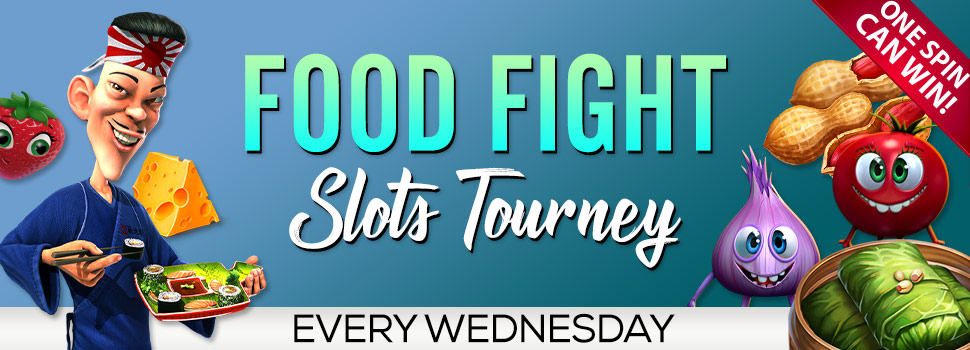 Food Fight Slots Tourney