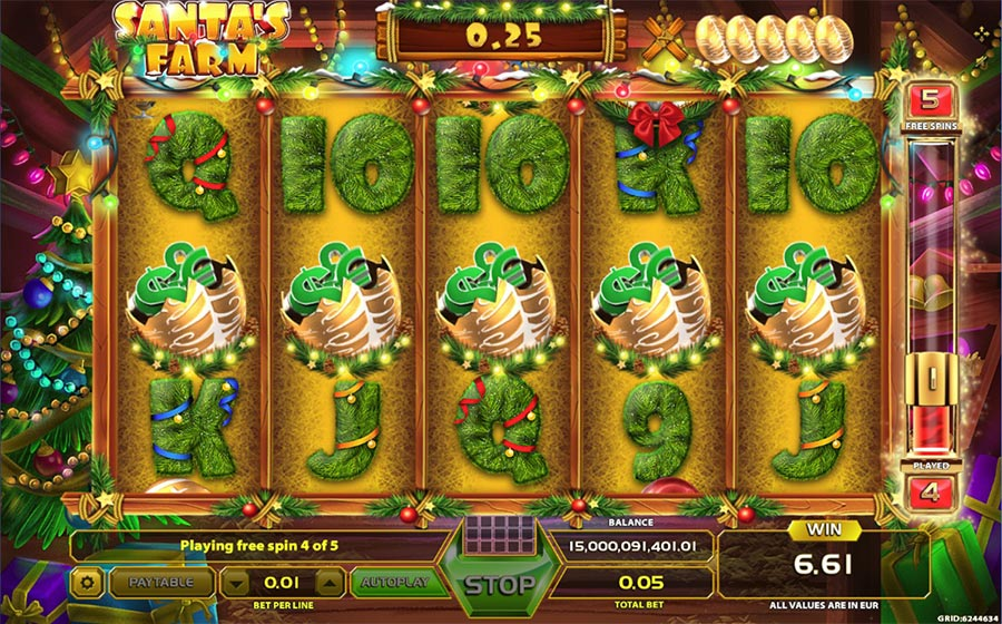 Spiele SantaS Farm - Video Slots Online