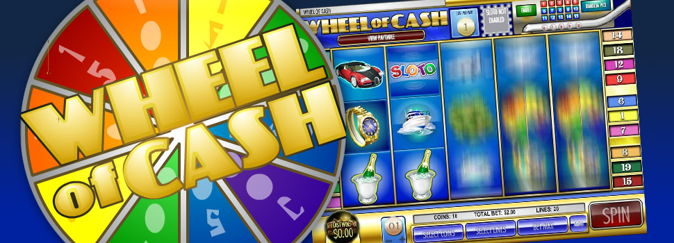 wheel of cash Desktop